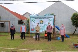 Tim PkM Dosen Fakultas Kehutanan USU (dok. Fahutan USU 20/09/20)