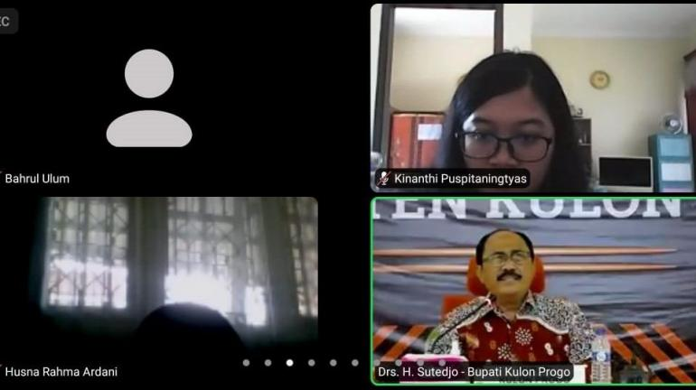 Zoom meeting netralitas ASN dalam Pilkada (Dokpri)