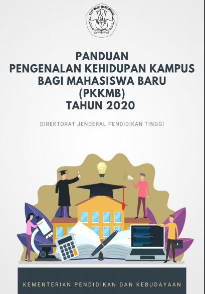 Tangkapan Layar Panduan PKKMB tahun 2020 via Kemendikbud.go.id