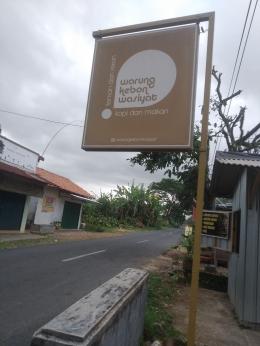 Warung kebon wasiyat Ajibarang (dok. Vera shinta)