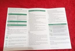 Brosur persyaratan dokumen Haji (Foto : Fifi SHN)