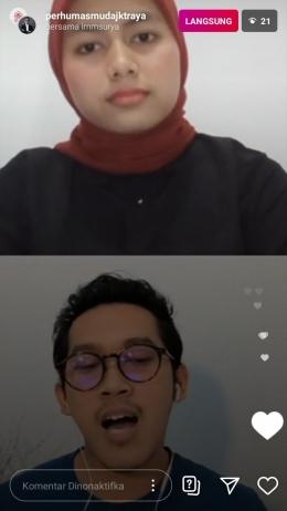 Live Instagram (Dok: PERHUMAS Muda Jakarta Raya)