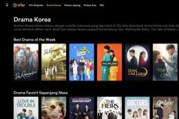 ilustrasi rekomdasi tayangan drama korea favorit. (sumber: tangkapan layar dari Viu)