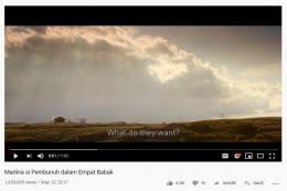 Jumlah penonton trailer Marline Si Pembunuh Dalam Empat Babak. Sumber: YouTube