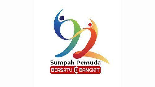 Logo Sumpah Pemuda Ke 92 oleh Kemenpora