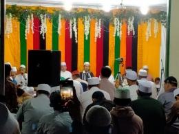 Maulid Arbain diikuti oleh ratusan jamaah di markas Az -zabidie Gp Jawa Tengah( dok : gabril)