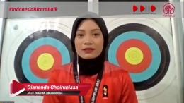 Diananda Choirunnisa Atlet Panahan Tim Indonesia