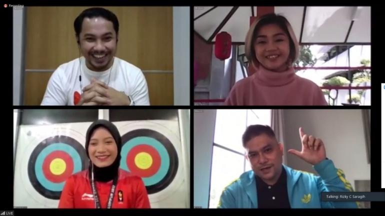 Webinar menuju KNH20: Humas Muda Bersatu dan Bangkit