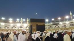 Purnama di atas Makkah   dokpri