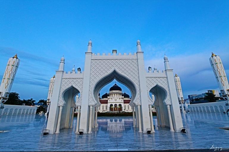 Masjid Raya Baiturrahman Banda Aceh NAD (Dokpri)