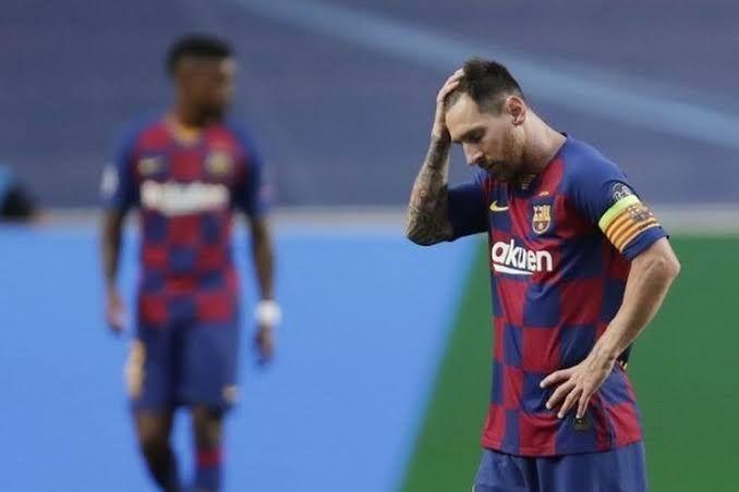 Potret Mega Bintang Barcelona, Lionel Messi. kompas.com