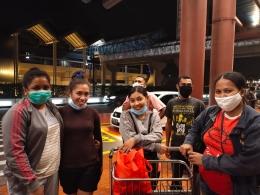 Dokpri:Foto Perpisahan di Bandara Internasional Soekarno-Hatta