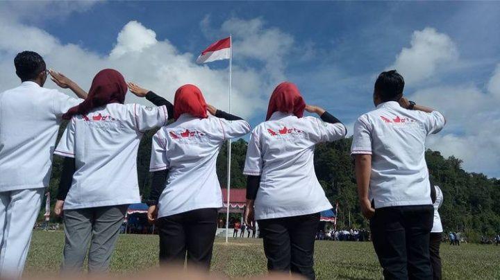 Foto : Nusantara Sehat tim bacth 5 Puskesmas Lindu provinsi Sulawesi Tengah (dokpri).