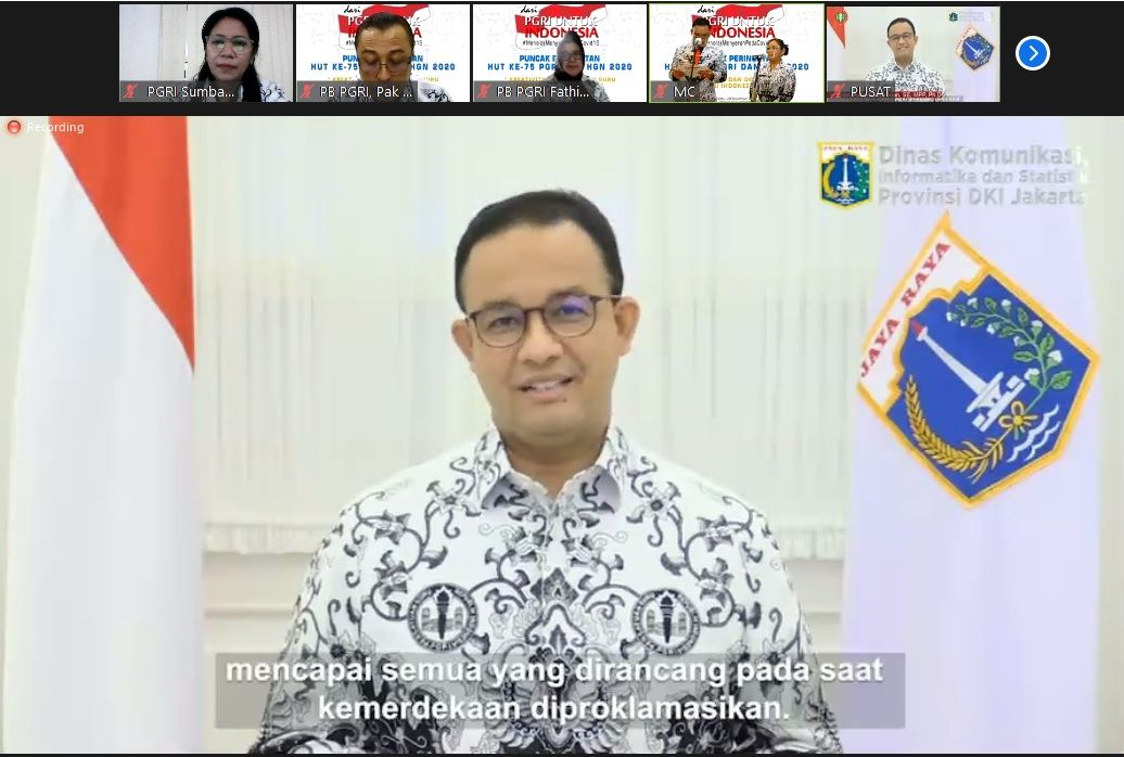 Sambutan Gubernur DKI Jakarta
