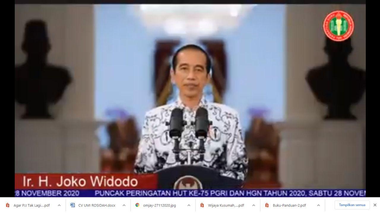 Amanah Presiden Jokowi di HUT PGI yang ke-75