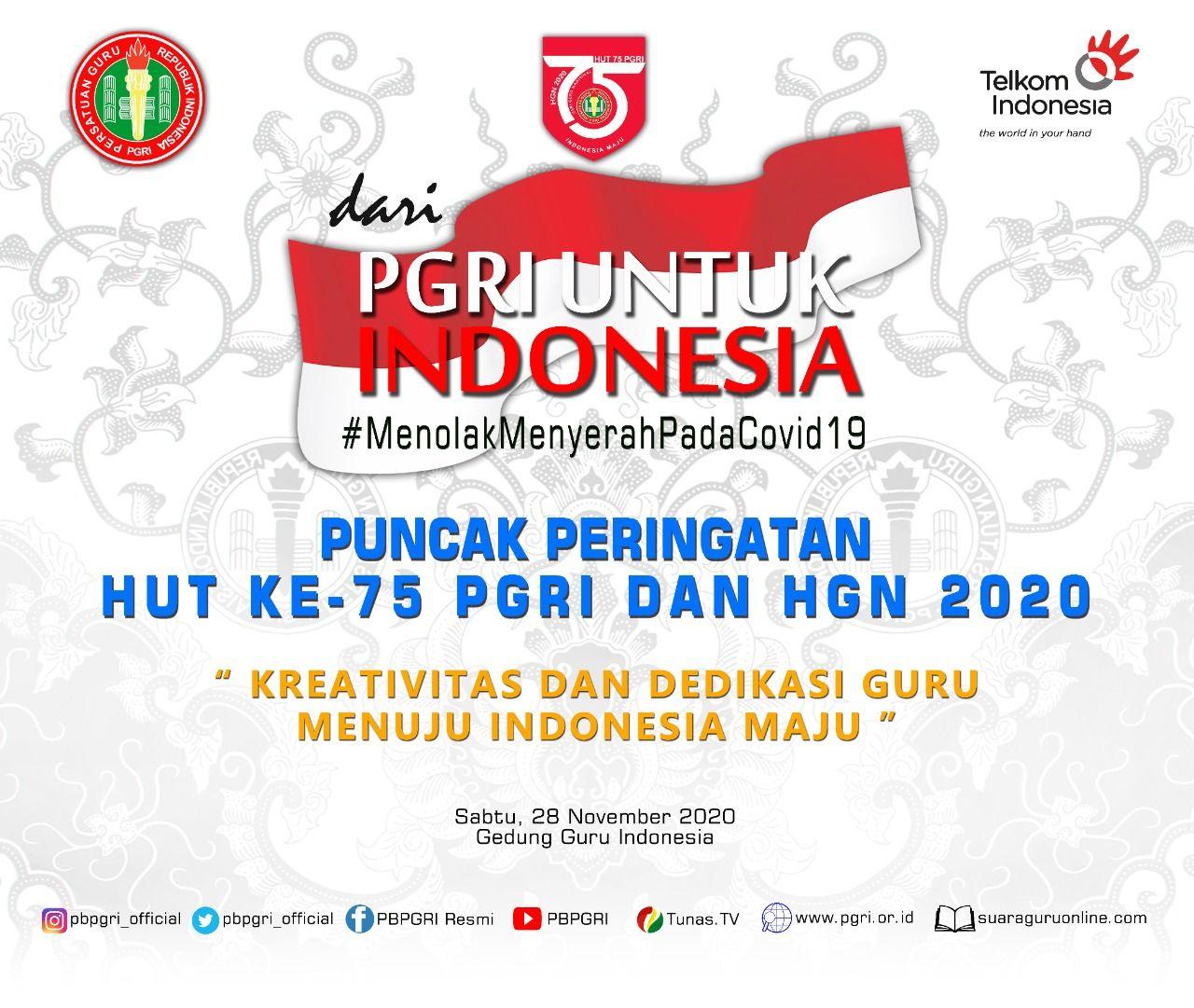 PGRI untuk Indonesia