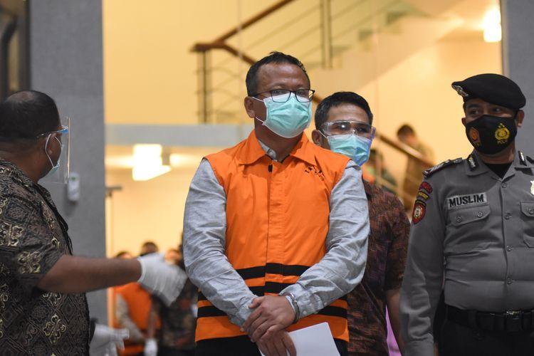 Edhy Prabowo ditangkap KPK (ANTARAFOTO/INDRIANTO EKO SUWARSO)