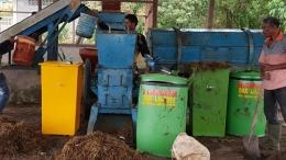 Fasilitas pengelolaan sampah (foto dokumentasi pribadi).