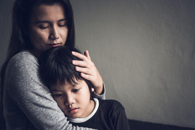 Ilustrasi gambar ibu dan anak | shutterstock via kompas.com