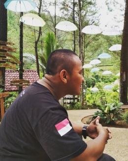 Kredit foto: Dokumentasi Pribadi, Adit saat sedang santai di Kota Batu
