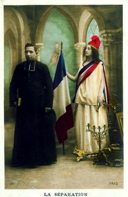Undang-Undang 1905 Pemisahan Negara dan Agama di Perancis | via wikimedia.org