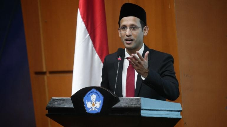 Nadiem Anwar Makarim Menteri Pendidikan dan Kebudayaan Indonesia. Ilustrasi foto: sumber trenasia.com.