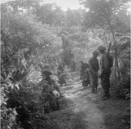 media.iwm.org.uk | Pakistani soldiers near Gresik, East Java.