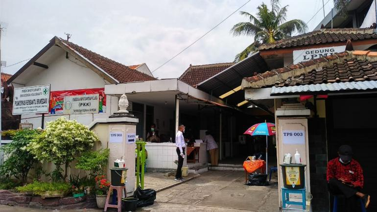 suasana di salah satu TPS kelurahan Sriwedari, Solo   dokpri