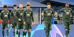 Man. United harus rela turun ke Liga Europa. Gambar: Uefa via Bola.net