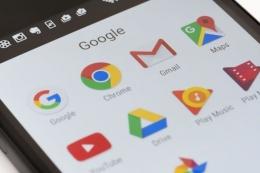 Ilustrasi sejumlah layanan milik Google (Yahoo News via Kompas.com)