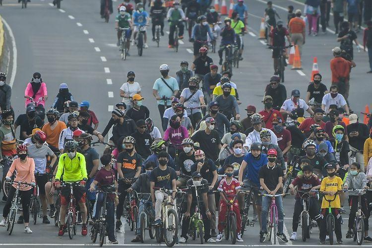 Tren bersepeda yang hidup kembali selama pandemi   Kompas.com