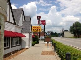 Restauran tempat pertama kali Colonel Sanders meracik resep rahasianya (Sumber : Luis A. https://foursquare.com/user/15130709)