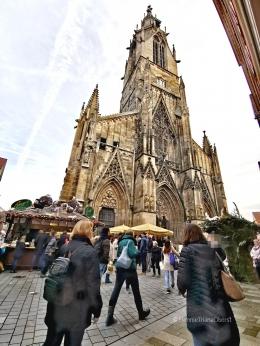 Suasana pasar Natal di Jerman - foto: HennieTriana