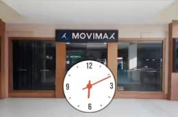 Pintu Bioskop Movimax Dinoyo Malang Tutup (dokpri)