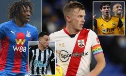 Sponsor rumah judi terpampang di jersey klub-klub Premier League. | Dailymail.co.uk