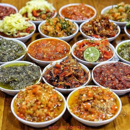 Macam-macam sambal nusantara, Sumber: Titipku