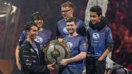 Evil Geniuses memenangkan The International 5. Sumber: liquidpedia