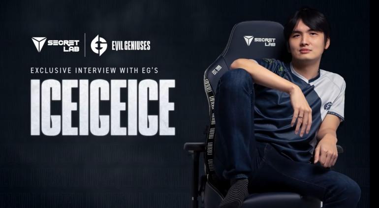 Wawancara eksklusif bersama iceiceice. Sumber: Secretlab