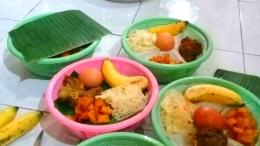 Nasi brekat isi telur dan daging ayam/cookpad.com
