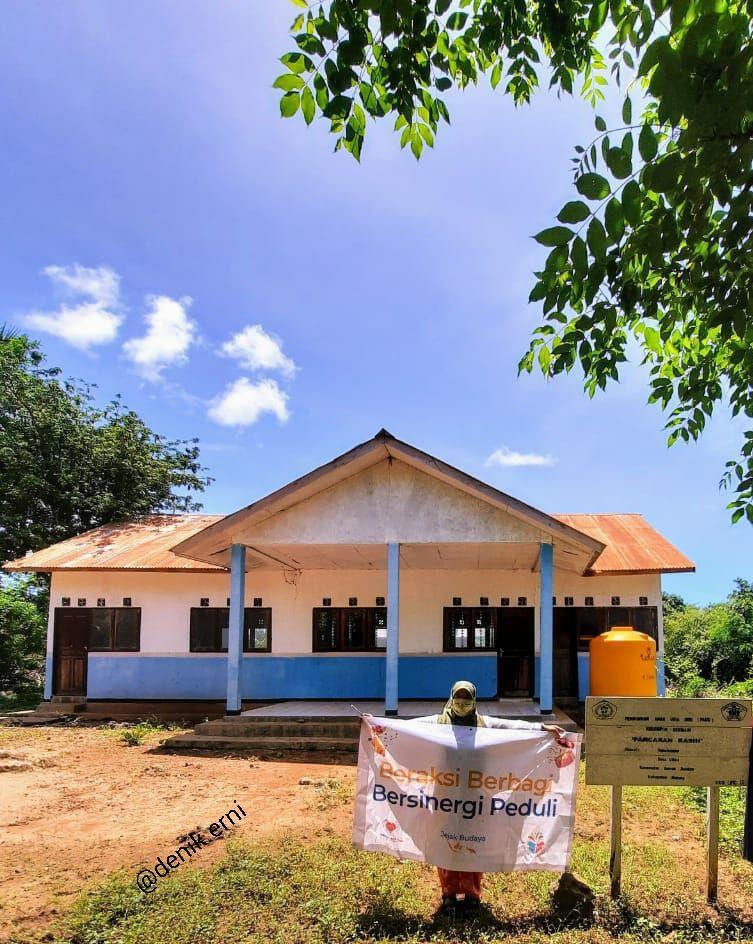 Kegiatan di Pulau Semau, Kabupaten Kupang, NTT (dokpri)