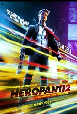 Tiger Shroff di Film Heropanti 2/bollywoodmdb.com