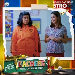 Yova Gracia & Estelle Linden (pemeran utama film Teacher)