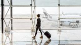 Ilustrasi roda koper di bandara (Detik Travel)