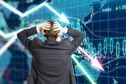 Ilustrasi bursa saham anjlok (Sumber: Thinkstocks via Kompas.com)