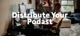 Langkah mendistribusikan Podcast