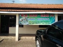 Lokasi Gado-gado 74 Ungaran - sumber : vymaps.com