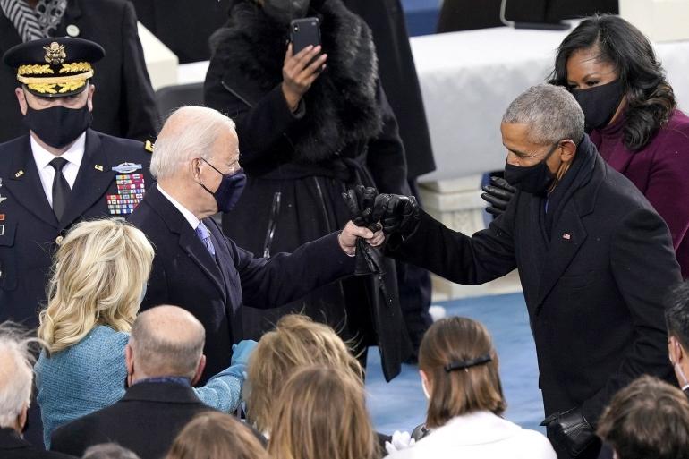 Pelantikan Joe Biden menjadi presiden ke 46 Amerika Serikat Rabu, 20 Januari 2021. Foto : dokumen pribadi