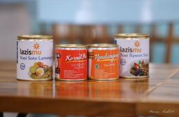 beberapa makanan kaleng yang disumbangkan saat bencana. Foto: lazismu jatim