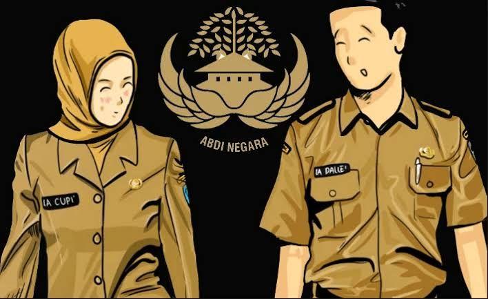 Illustrasi Pegawai Negeri Sipil (pic: bkpp.kulonprogokab.co.id)