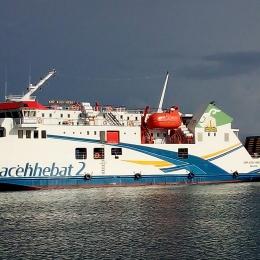 Menanti Kapal Ferry Kmp Aceh Hebat 2 Berlayar Ke Pulau Weh Sabang Kompasiana Com